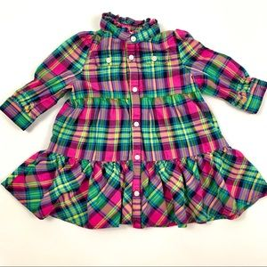 Ralph Lauren 6M Plaid Dress